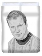 James Tiberius Kirk Duvet Cover by Thomas J Herring