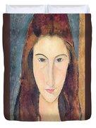 Jeanne Hebuterne Duvet Cover by Amedeo Modigliani
