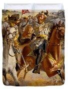 Jeb Stuart Civil War Duvet Cover by Henry Alexander Ogden