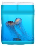 Jelly Fish 5d24945 Duvet Cover by Wingsdomain Art and Photography