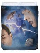 Jeremiah One Five Duvet Cover by Joseph Juvenal