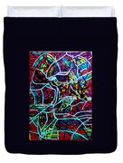 Jesus Christ - King Of Peace Duvet Cover by Gloria Ssali