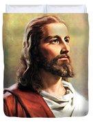 Jesus Christ Duvet Cover by Munir Alawi