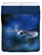 Jet Blue Duvet Cover by Donna Kennedy