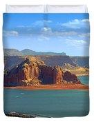 Jewel in the Desert - Lake Powell Duvet Cover by Christine Till