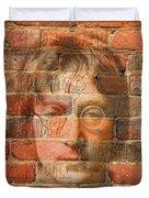 John Lennon 2 Duvet Cover by Andrew Fare