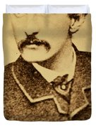 John Wilkes Booth Duvet Cover by Anonymous