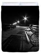 Journey Into Darkness Duvet Cover by Evelina Kremsdorf