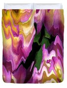 Jowey Gipsy Abstract Duvet Cover by J McCombie