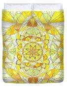 Joy Duvet Cover by Teal Eye  Print Store