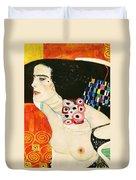 Judith II Duvet Cover by Gustav Klimt