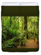 Jungle Scene Duvet Cover by Les Cunliffe