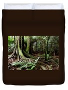 Jungle Trunks3 Duvet Cover by Les Cunliffe
