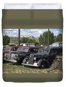 Junk Or Treasure Duvet Cover by Daniel Hagerman