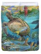 Jupiter Haven Re001 Duvet Cover by Carey Chen