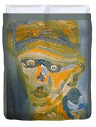 Just another Face Duvet Cover by Shea Holliman