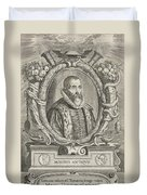 Justus Lipsius, Belgian Scholar Duvet Cover by Photo Researchers