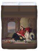 Kandahar Lady Of Rank Duvet Cover by James Rattray
