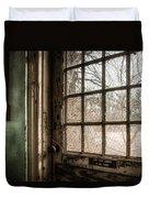 Keep Door Locked Duvet Cover by Gary Heller