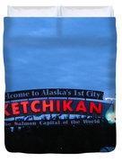 Ketchikan Duvet Cover by Robert Bales