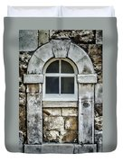 Keystone Window Duvet Cover by Heather Applegate