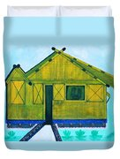 Kiddie House Duvet Cover by Lorna Maza