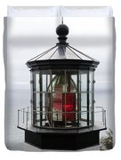 Kilauea Lighthouse Duvet Cover by Peter French