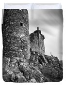 Kilchurn Castle Duvet Cover by Dave Bowman