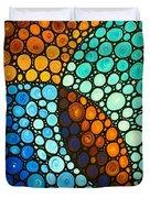 Kindred Spirits Duvet Cover by Sharon Cummings