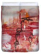 Kinetic Energy Duvet Cover by Stephanie Holznecht