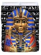 King Of Egypt Duvet Cover by Daniel Hagerman
