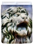 King Of The Sky Duvet Cover by RC deWinter