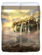 Kingdom Come Duvet Cover by Tamer and Cindy Elsharouni