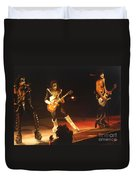 Kiss-b33a Duvet Cover by Gary Gingrich Galleries