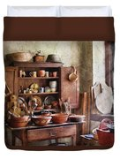 Kitchen - For The Master Chef  Duvet Cover by Mike Savad