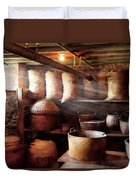 Kitchen - Storage - The Grain Cellar  Duvet Cover by Mike Savad