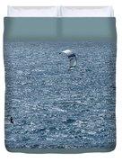 Kite Surfing Duvet Cover by Brian Roscorla