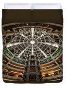 Klcc Mall Duvet Cover by Adrian Evans