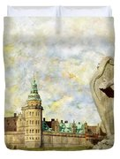 Kronborg Castle Duvet Cover by Catf