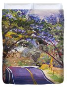 Kula Cruising Duvet Cover by Jennifer Beaudet