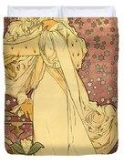 La Dame Duvet Cover by Gary Grayson