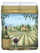 La Dolce Vita Duvet Cover by Marilyn Dunlap