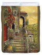 La Scala Grande Duvet Cover by Guido Borelli