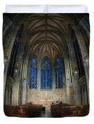 Lady Chapel At St Patrick's Catheral Duvet Cover by Jerry Fornarotto