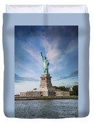 Lady Liberty Duvet Cover by Juli Scalzi