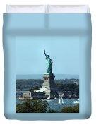 Lady Liberty Duvet Cover by Kristin Elmquist
