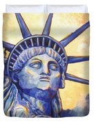 Lady Liberty Duvet Cover by Linda Mears