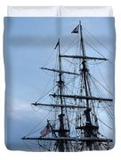 Lady Washington's Masts Duvet Cover by Heidi Smith
