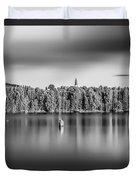 Lake Oyeren Duvet Cover by Erik Brede