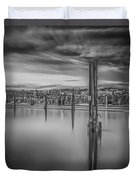 Lake Oyeren II Duvet Cover by Erik Brede